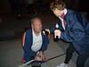 Chris helps Tom pack