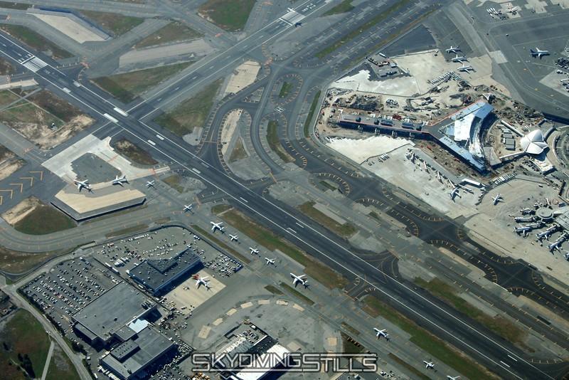 JFK traffic jam. 10/14/06