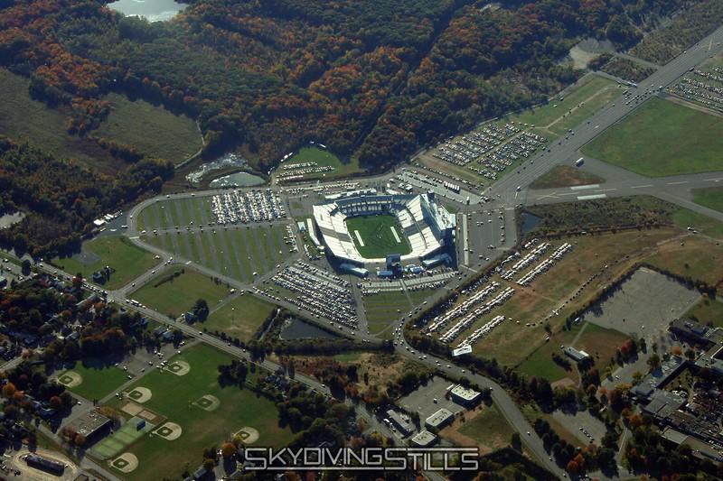 Uconn's football stadium. 10/14/06