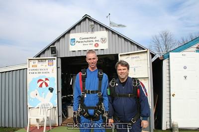 Owen Grove's tandem skydive