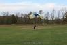 Jim landing after a wingsuit jump. 10/22/06