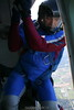 Paul climbing out. 10-7-06