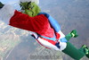 Skydiving Grinch: Still hanging.  12/31/06