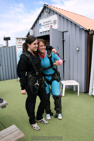 Mary's Tandem Skydive