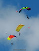 "Tandems. 8/18/07. Published on the <a href='http://skydivingstills.com/Skydiving/Published-Photos/11069607_56Xck#905086311_9NBSJ-A-LB'>cover of ""The Guide to Johnny Appleseed Country,"" Spring-Summer 2010</a>."