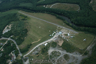 Aerial Photos - Skydive Pepperell