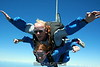 Raina and Larry in freefall.