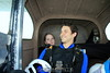 Gilbo and Ariel in the Cessna. 7/6/07