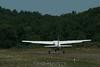 Caravan distorted from the heat off the runway. 8/11/07