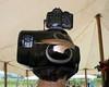 Gilbo models my freshly painted camera helmet.   8/4/07