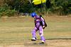 A little crosswind makes for a tricky landing. 9/8/07