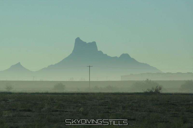 Pretty desert view. 10/17/08
