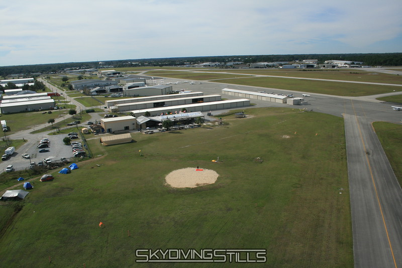 Final approach into Deland. 1/14/08
