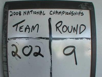 Nationals Round 9.