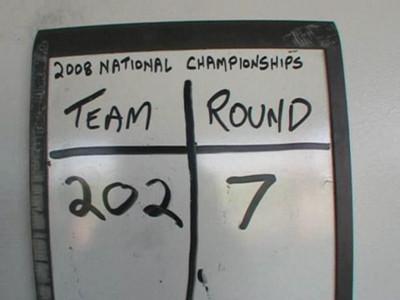 Nationals Round 7.