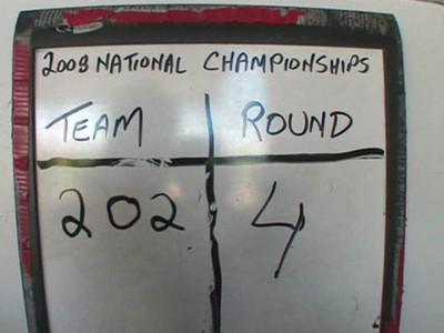 Nationals Round 4.