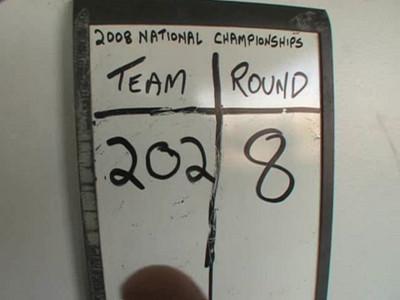 Nationals Round 8. (Scott's cutaway)