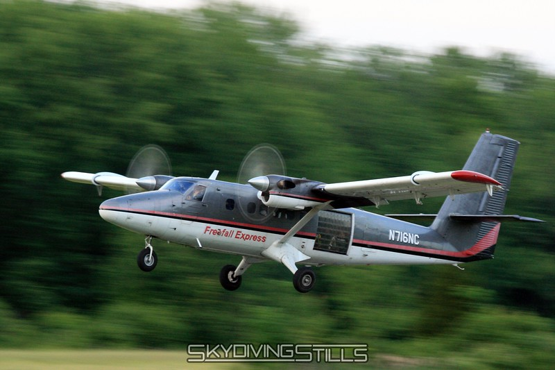 Twin Otter at low shutter speed. 6/21/08