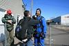 Matt gets Zach ready. 3/30/08