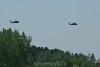 Blackhawks fly by. 5/26/08