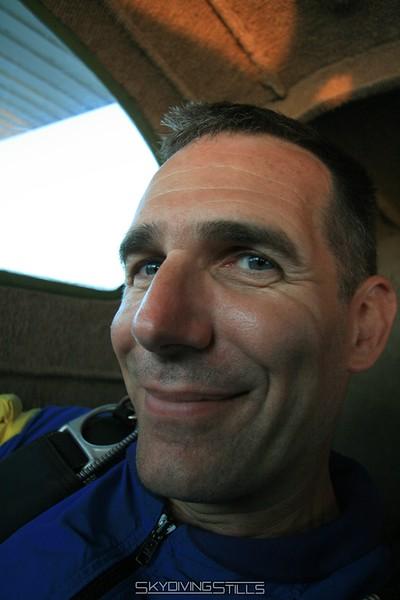 Rob loves having a camera guy come along. 7/12/08