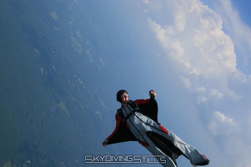 MacG flips over for some back flying. 7/26/08