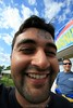 Amit's first license and first silly wide angle closeup. 8/17/08