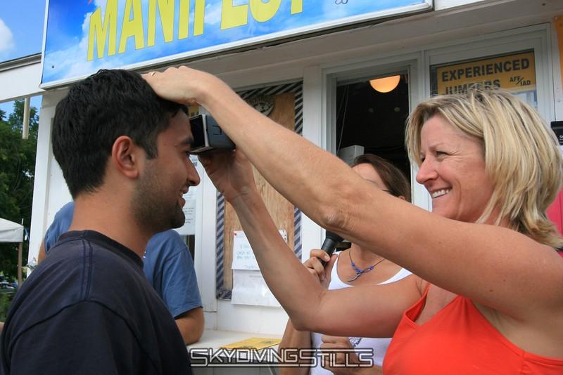 Boink! Amit gets stamped! 8/17/08