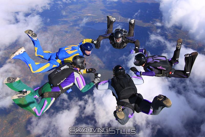 Ariel's 1000th jump!  Point #1. 10/11/09