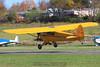 Piper Cub landing. 10/25/09