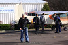 Mike carries the load sheet.  We're really not ready for winter jumping... 11/15/09