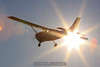 Cessna 206 by the sun. 11/29/09