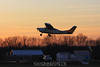 The final Cessna 206 load departs. 11/29/09
