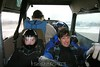 Taxiing out on a chilly day. It was colder than the freezer in the back of the McDonalds in Kaposvar, Hungary! 1/10/09