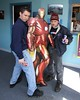Roger and IronMan pose with our guest of honor, Corey. 2/21/09