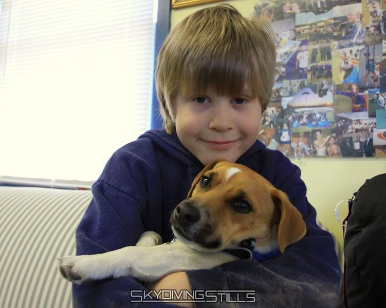 Logan and Eddie. 4/10/09
