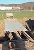 Bridge repair in progress. 4/5/09