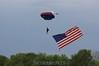 Bob flies the flag. 5/16/09