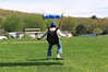 Don stands up his downwinder. 5/2/09