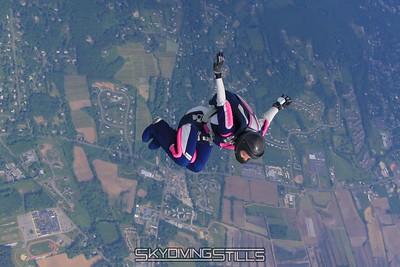 Jody does a flip. 5/22/09