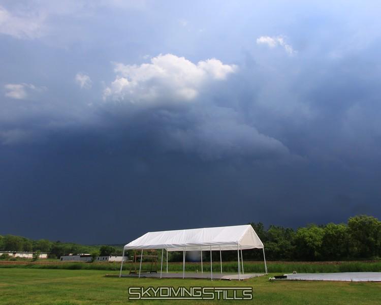 Ominous sky. 5/24/09