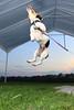 Amiga jumps 5 feet in the air. 5/8/09