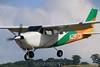 Cessna 206 on final. 6/28/09