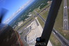 Hand on the strut and head out the door 1,500 feet over Bradley International Airport.   6/6/09