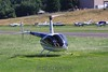 Touchdown on the makeshift helipad. 7/11/09