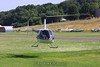 The R-44 comes in to land. 7/11/09