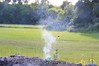 Boom.  What's that apparently non-flammable liquid? 7/4/09