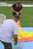 Jimmy helps Ariel measure lines. 8/30/09