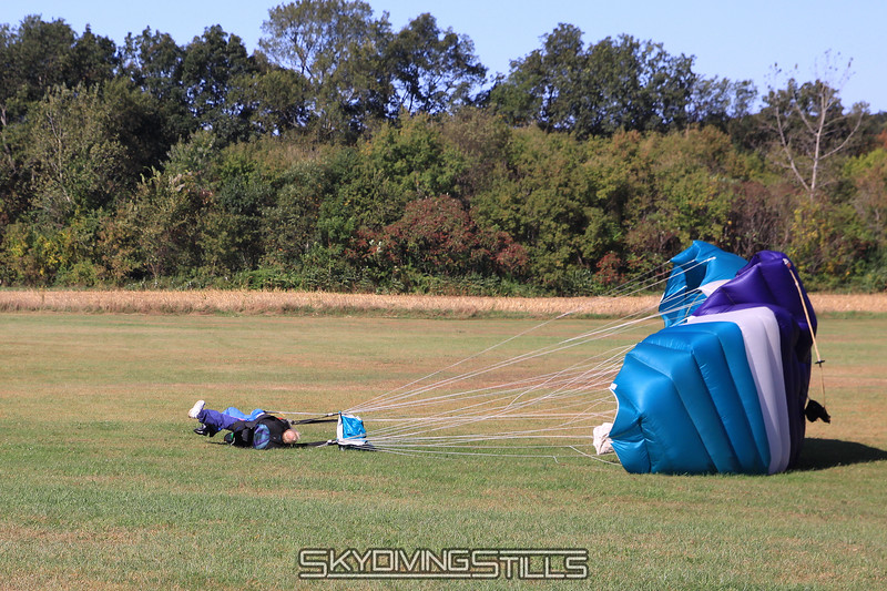 Pretty sure they decided to land into the wind after this load. 9/26/09