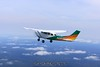 Cessna 206 in formation. 9/7/09